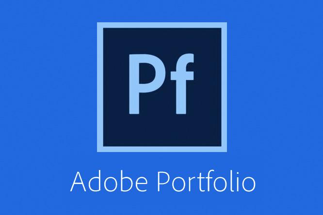 AdobePortfolio - Thematische Übersicht