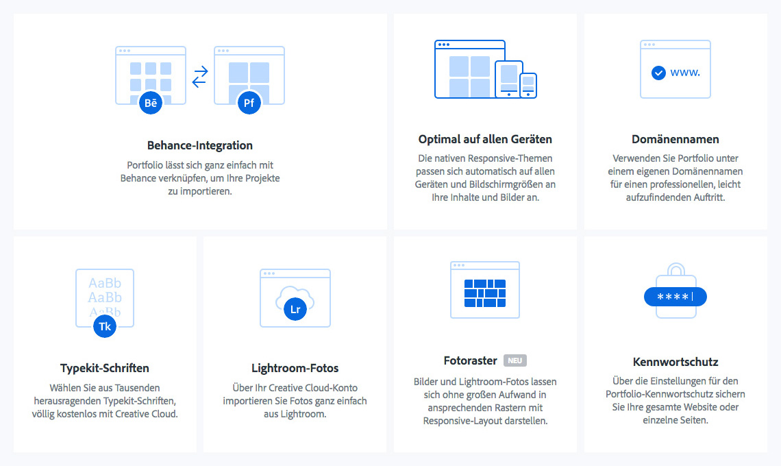 WS Adobe PF 03 - Foto-Webseiten mit Adobe Portfolio erstellen