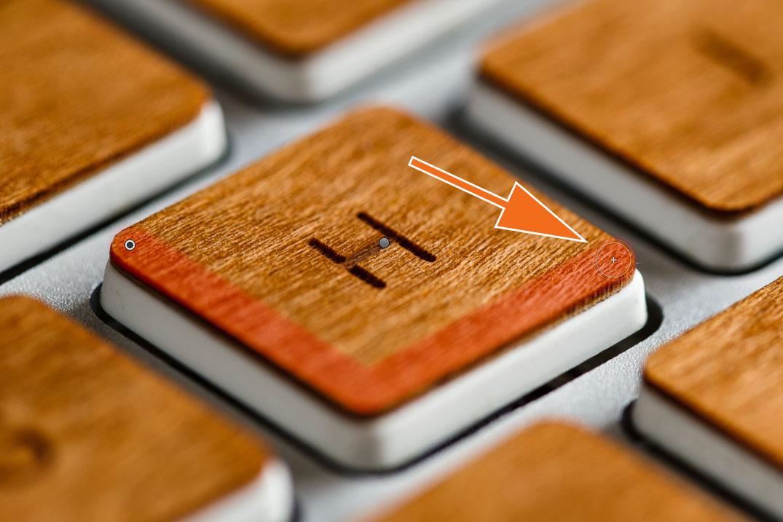 """LTM002 1 05 Plus Pinsel 3. Click - Lightroom-Tipp #2: """"Gerade Linien mit Shift"""""""