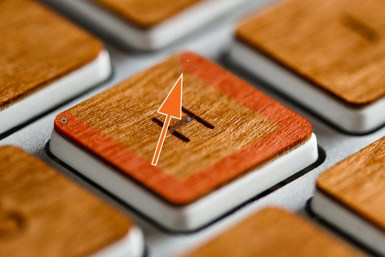 """LTM002 1 06 Plus Pinsel 4. Click - Lightroom-Tipp #2: """"Gerade Linien mit Shift"""""""