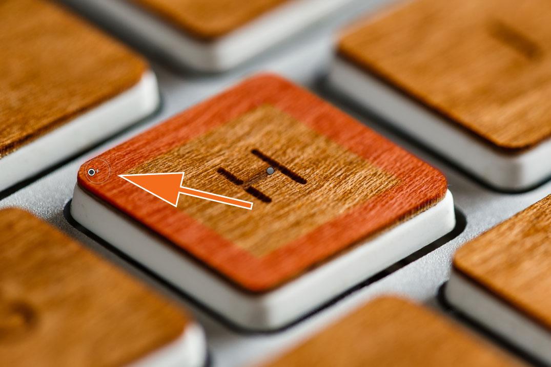"""LTM002 1 07 Plus Pinsel 5. Click - Lightroom-Tipp #2: """"Gerade Linien mit Shift"""""""