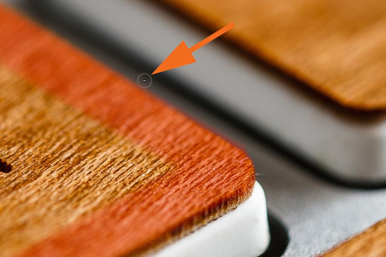 "LTM002 1 10 Minus Pinsel Second Click - Lightroom-Tipp #2: ""Gerade Linien mit Shift"""