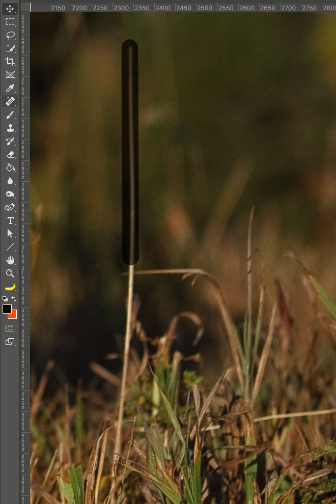 """LTM002 3 03 PS Stempel Post Second Click - Lightroom-Tipp #2: """"Gerade Linien mit Shift"""""""