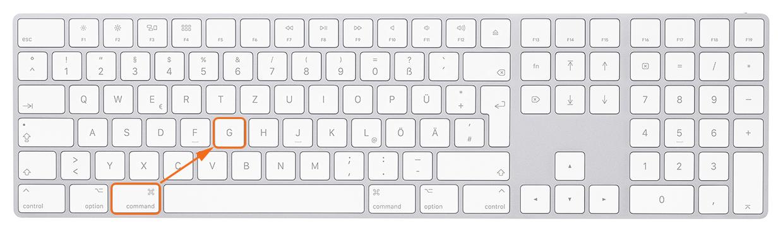 """Tastatur CMD G Mac - Lightroom-Tiger-Tipp #9: """"Stapel-Roboter"""""""