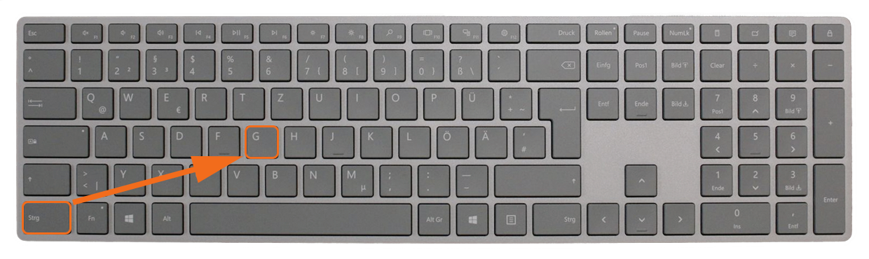 "Tastatur CMD G Win - Lightroom-Tipp #6: ""Stapel-Roboter"""