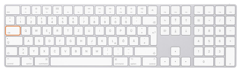 "Tastatur Tab Mac - Lightroom-Tiger-Tipp #13: ""Blitz-Bearbeitung"""