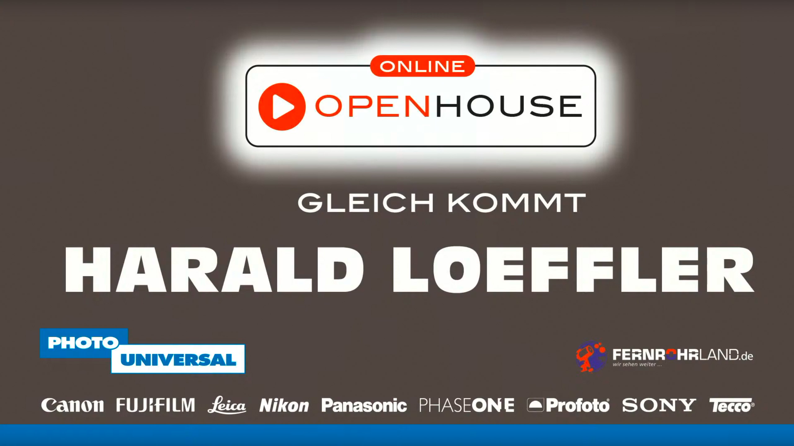 Teaser - Online Open House bei Photo Universal