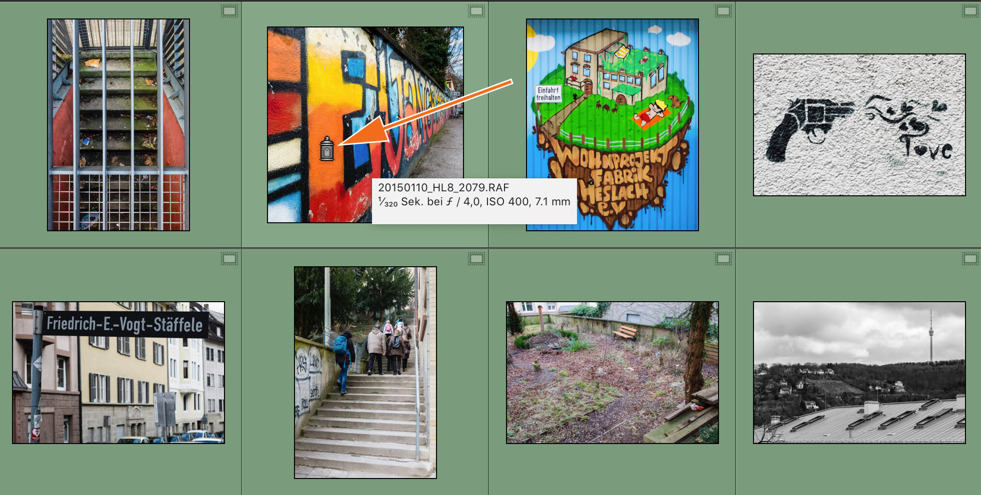 "LTM005 05 Ungesprueht - Lightroom-Tiger-Tipp #8: ""Stichwort-Graffiti"""