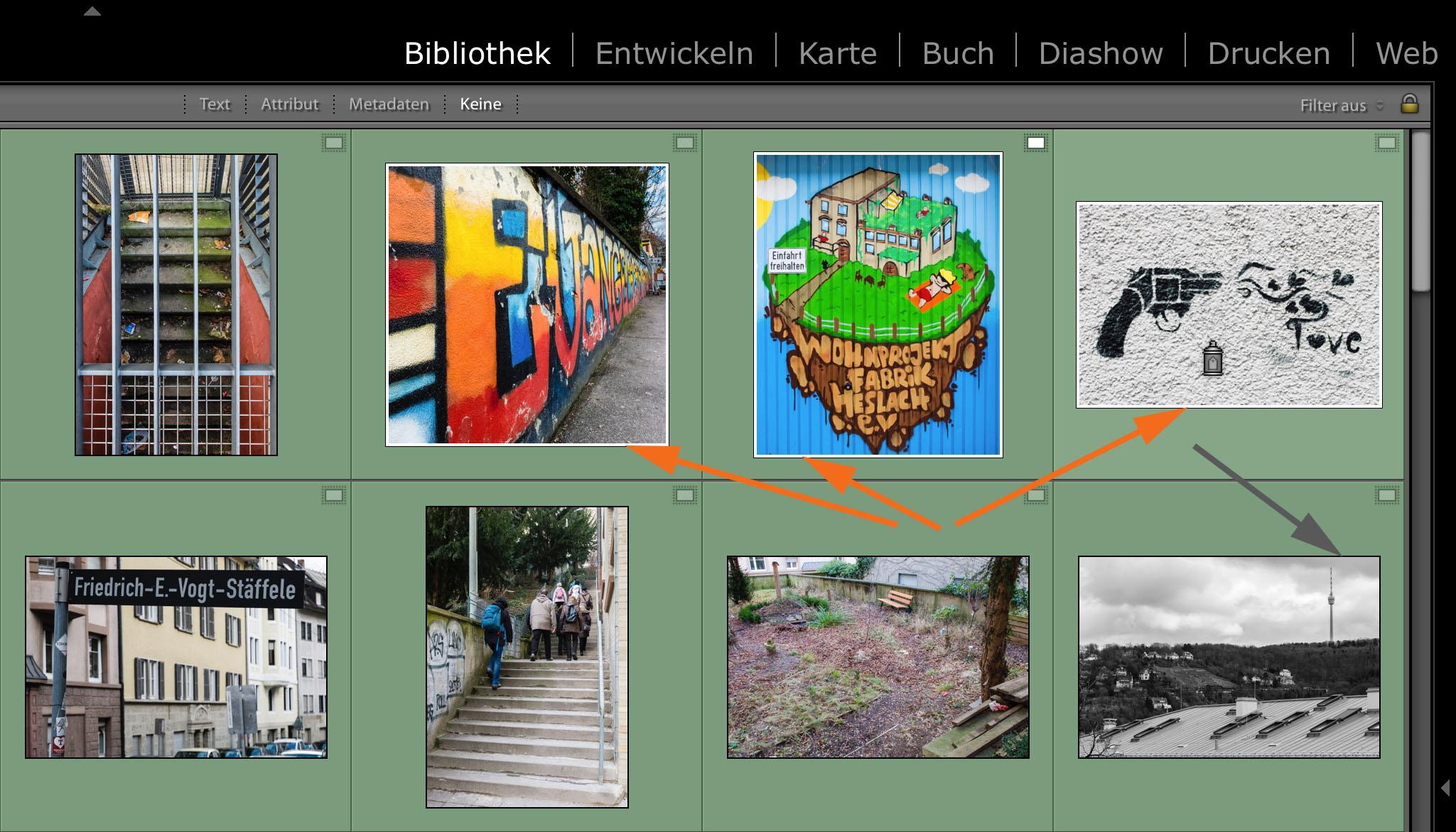 """LTM005 06 Gesprueht - Lightroom-Tiger-Tipp #8: """"Stichwort-Graffiti"""""""